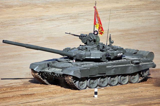 Тепловые датчики будут использоваться в том числе и на танках Т-90.