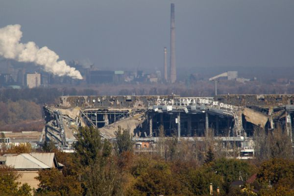 Но во время боевых действий в ходе событий 2014 года на востоке Украины здания и сооружения аэропорта были практически уничтожены.