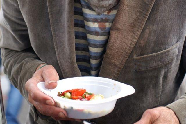 В Екатеринбурге открылся пункт питания для бездомных