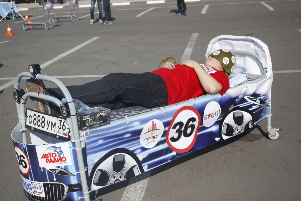 В перерывах между гонками можно было и отдохнуть