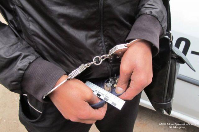 Задержаный наркоторговец