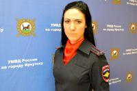 Лейтенант полиции Алена Волкова.