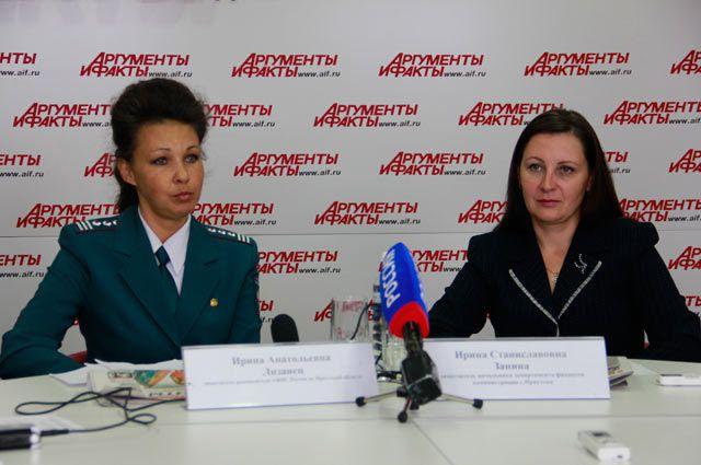 Ирина Лизанец и Ирина Занина