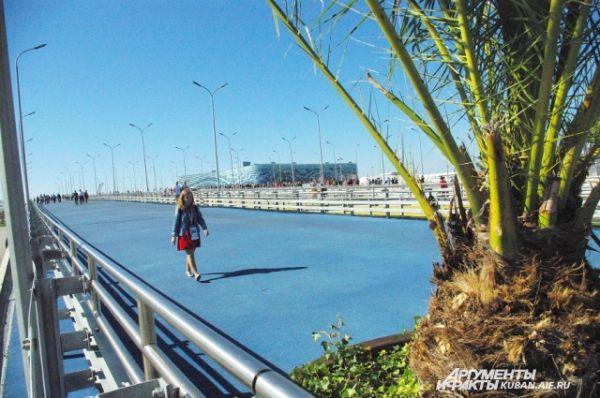 Мосты в Олимпийском парке.