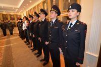 Полицейских обучают в профцентре МВД.