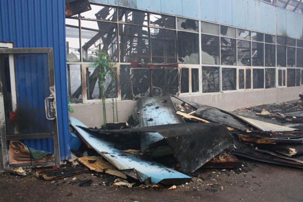 Пожар произошел на улице Журналистов, 100 в 15.45