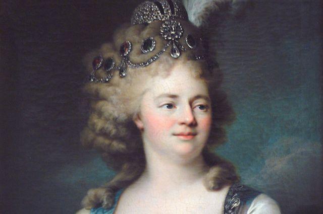 Вуаль Жан Луи. Портрет великой княгини Марии Фёдоровны (1759-1828)