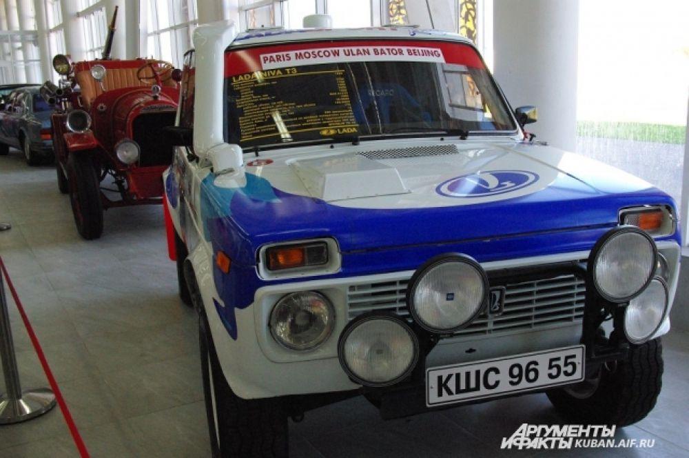 Lada Niva T3 1993 год выпуска.
