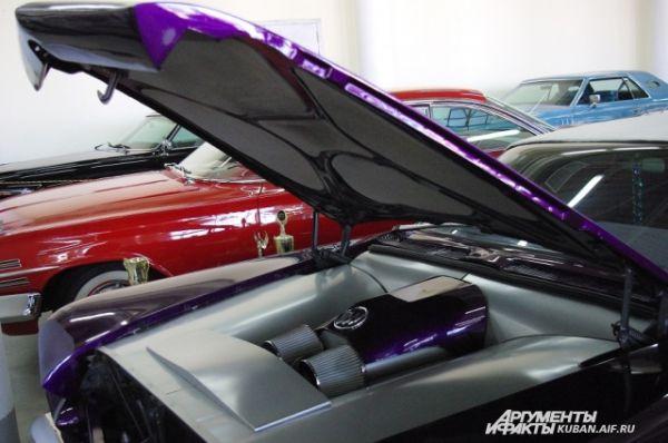 Все желающие могли увидеть «внутренности» Buick.
