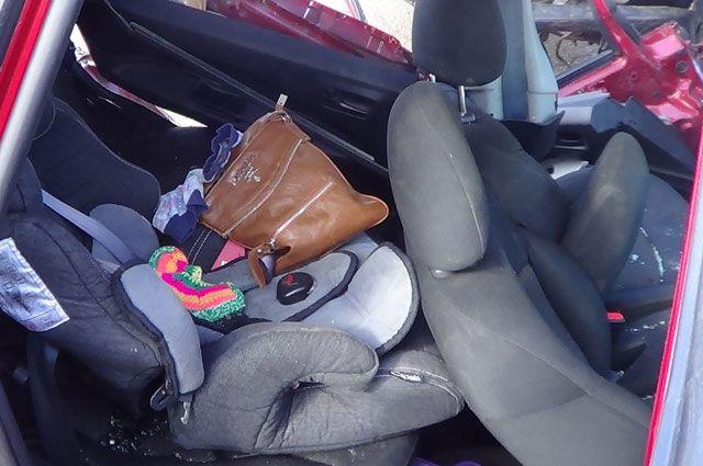 Автокресло спасло жизнь ребенку в момент ДТП.