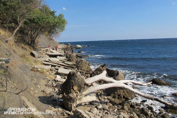 Поражала неблагоустроенность пляжей...