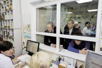 На первом этаже медучреждения разместили регистратуру и лаборатории.