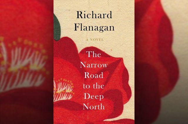 Иллюстрация обложки к роману Ричарда Флэнагана «Узкая дорога на дальний север».