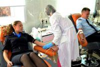 Станция переливания крови в Иркутске.