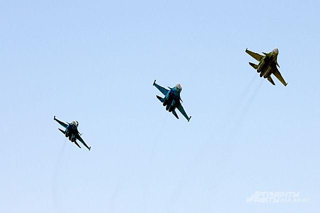Новосибирцы передали войскам новую партию Су-34