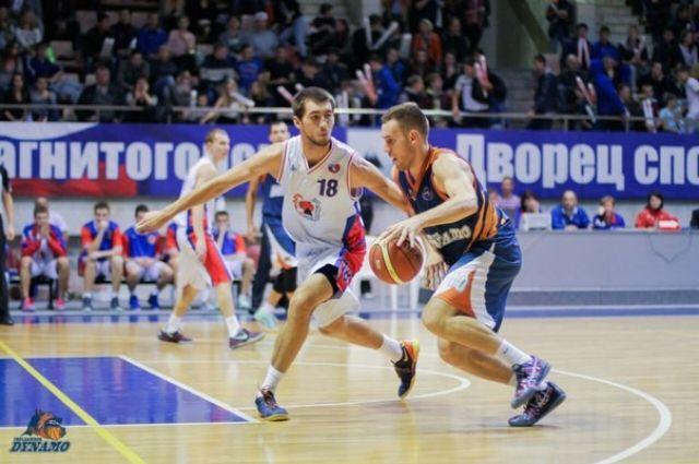 Чемпионат России по баскетболу «Динамо» начал с победы над «Магниткой»