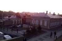 Исторический центр Иркутска.
