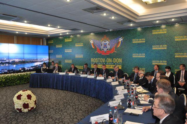 В 2012 году Ростов уже принимал делегацию ФИФА