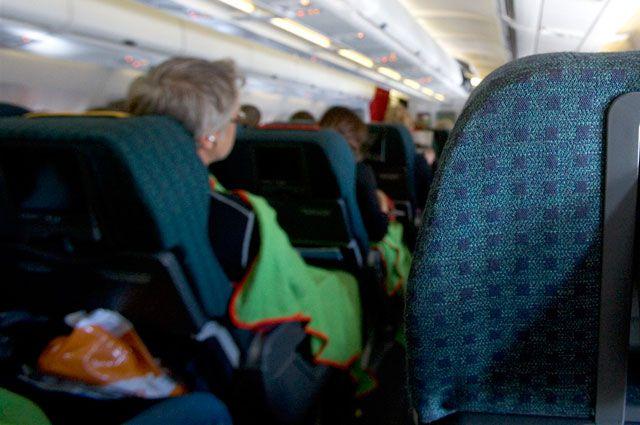 Пассажир самолета оказался под следствием.