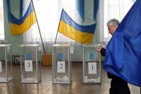 Один из участков на выборы в Раду