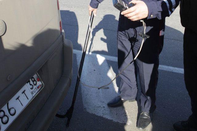 Замеры токсичности автомобилей в Иркутске.