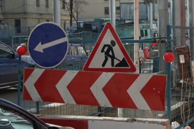 24-я Северная была перекрыта из-за реконструкции дороги.