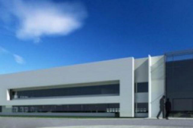 Один из заводов на территории промышленно-логистического парка НСО.
