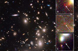 Телескоп Hubble обнаружил одну из самых древних и далеких галактик