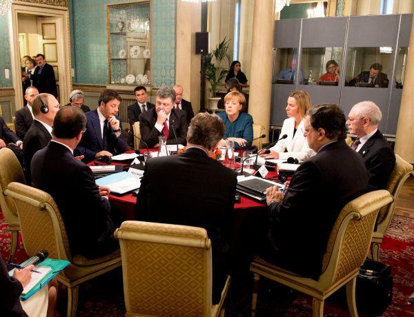 Порошенко и Путин встретились в Милане