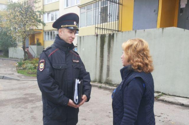 На своем административном участке Дмитрий Баранов работает уже более шести лет.