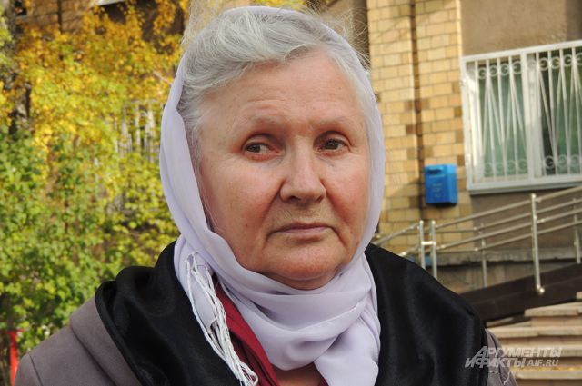 Красноярский врач-терапевт Алевтина Хориняк.