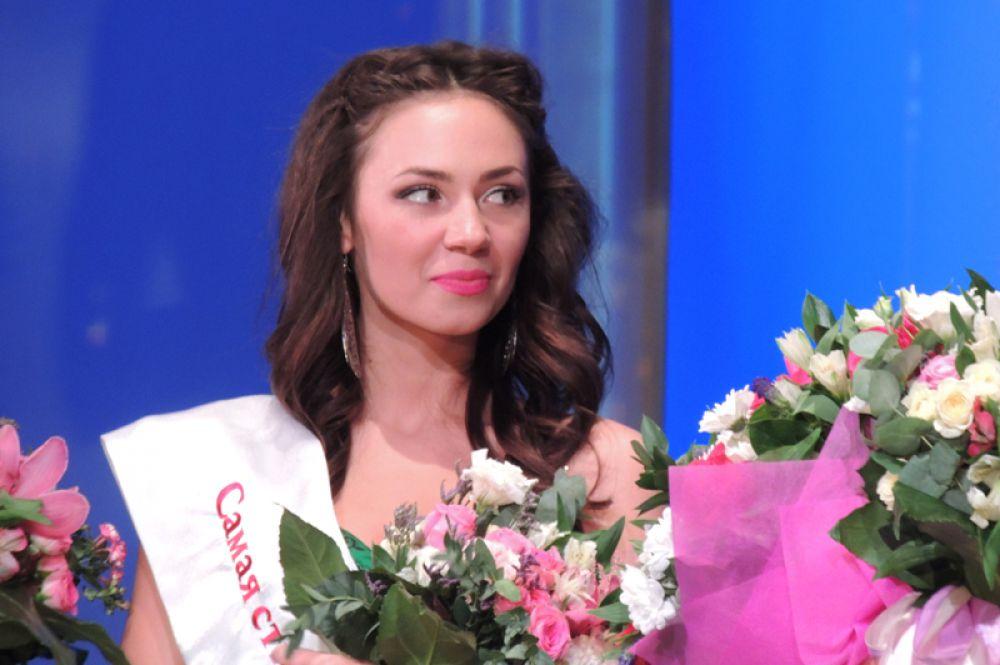 Дарину Капанжи признали самой стильной финалисткой конкурса красоты.