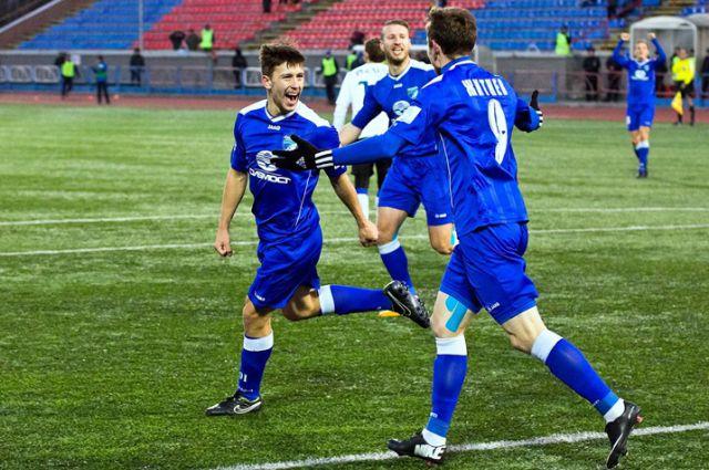Футбольная «Сибирь» одолела «Шинник» на своём поле