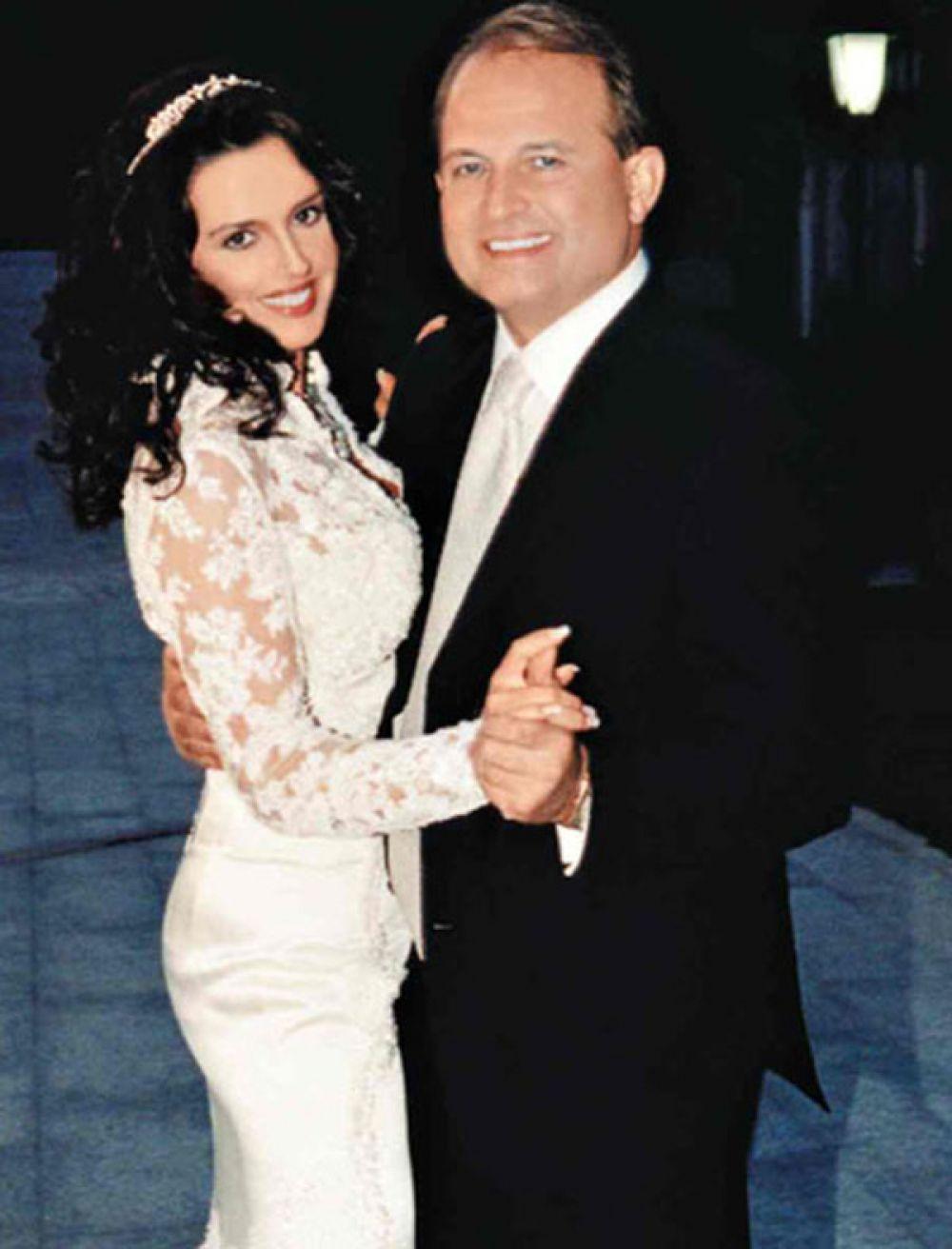 Оксана Марченко и Виктор Медведчук