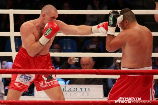 Решающий удар боксёра из Волгодонска.
