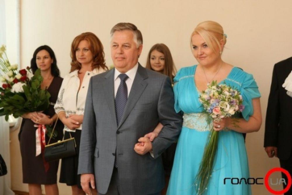 Оксана Ващенко и Петр Симоненко