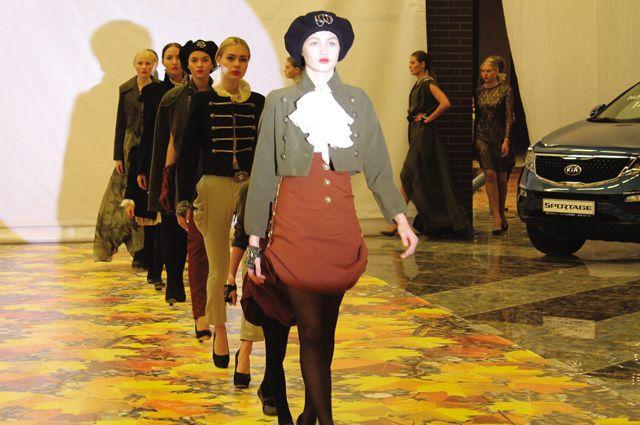 Коллекция Екатерины Спировой под названием «Революция».