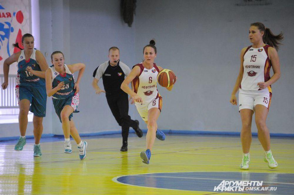 Баскетбольный матч «Нефтяник-Авангард»-«Глория-ГЦОЛИФК».