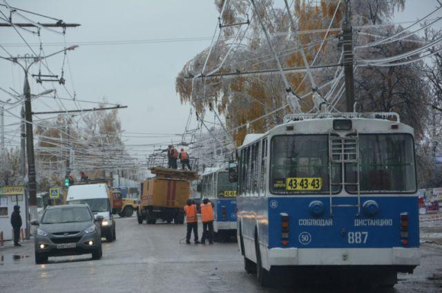 Трамваи и троллейбусы начнут ходить в Челябинске со вторника, 21 октября