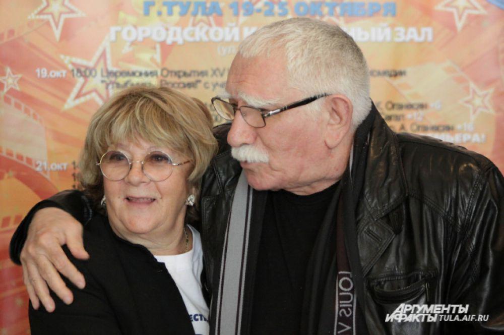 Алла Сурикова и Армен Джигарханян