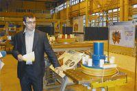 Катушки для проекта ИТЭР изготавливают в лаборатории мощного коммутационного оборудования НИИЭФА, которой руководит молодой учёный Максим Мазанчук.