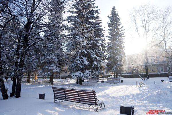 В Перми установилась рекордно холодная для октября погода.