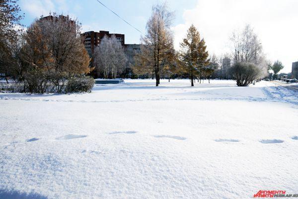 Стоит отметить, что последний раз октябрьские морозы наблюдались а 1976 году, когда в Перми было -25,2°С.