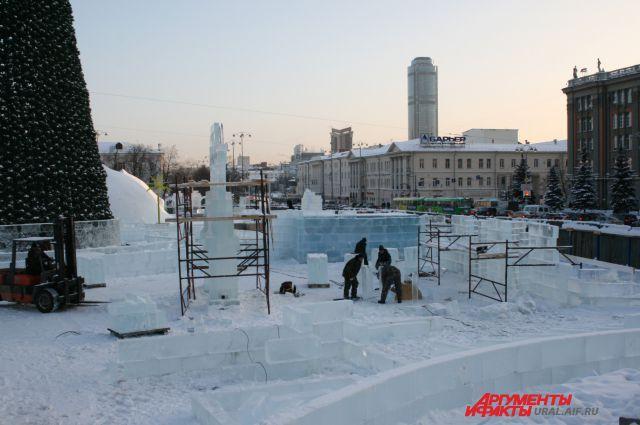 Новогодний городок в Екатеринбурге посвятят Великой Отечественной войне