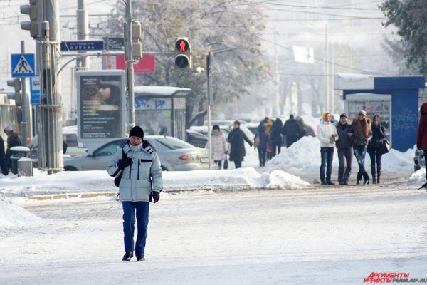 Среднесуточная температура во вторник окажется ниже нормы на 11-12°С, в среду – на 7-8°С.