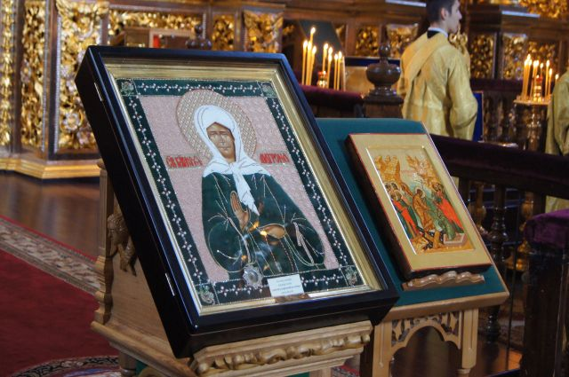 Мощи Святой Матроны прибудут в Омск в ноябре.