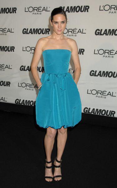 Актриса Дженнифер Коннели на церемонии вручения премии Glamour «Женщина года», 2007 год.
