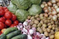 Овощи, выращенные в Украине