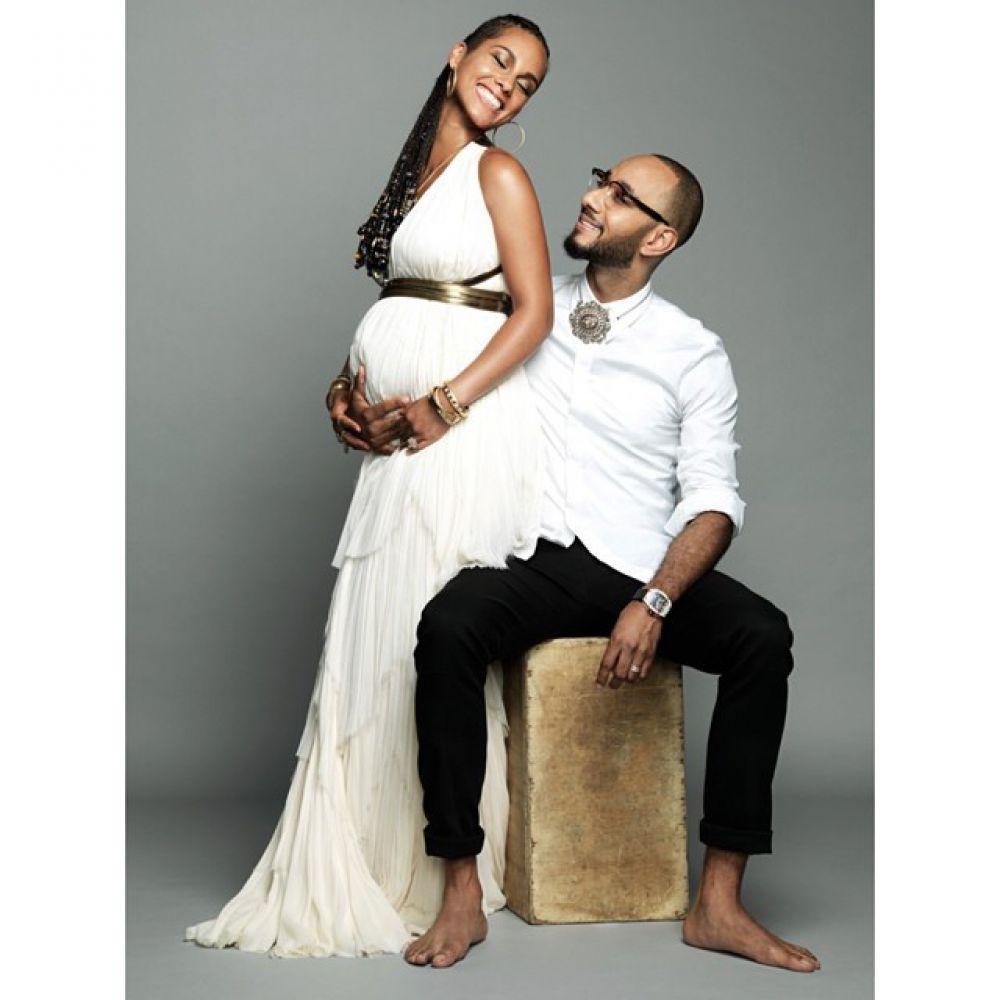 Алиша Кис беременна вторым ребенком