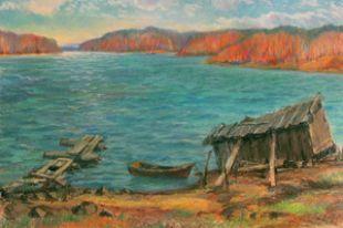 Омичи смогут увидеть «Многоликий Байкал» Александра Веснина
